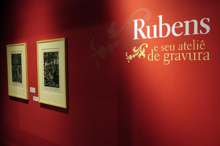 Exposição Rubens e seu Ateliê de Gravura